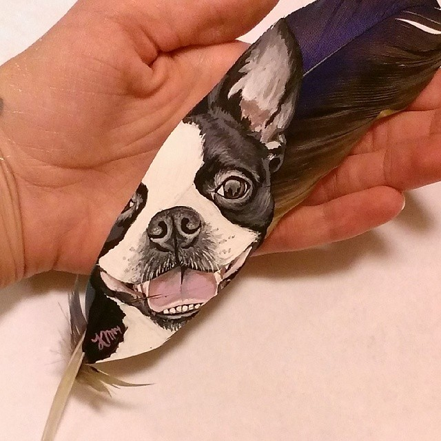 painting-animals-Portraits-Feather (6)