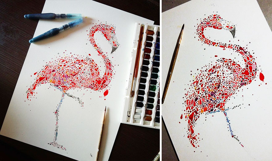 Самые красивые рисунки своими руками 310