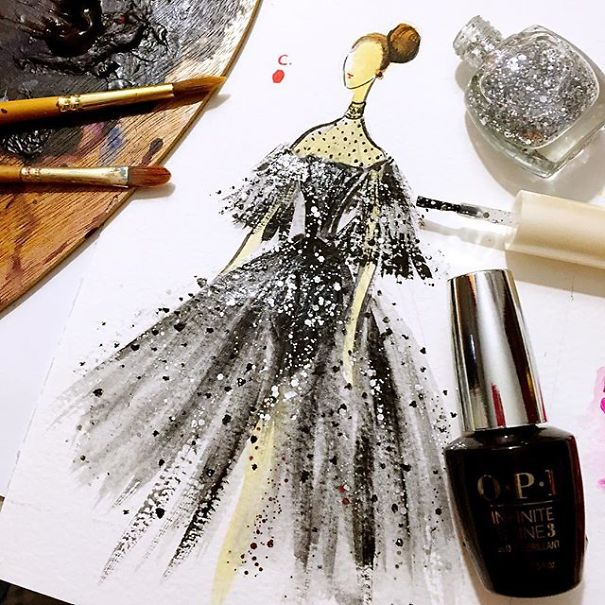 fashion-dress-nail-polish-paintings-11