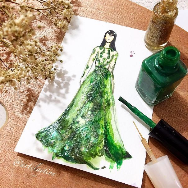 fashion-dress-nail-polish-paintings-16