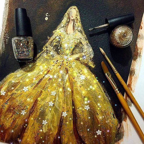fashion-dress-nail-polish-paintings-3
