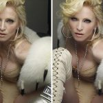 Unbelievable pictures of celebrities before and after Photoshop