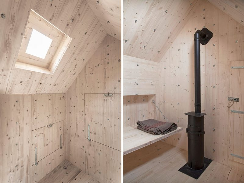 This Simple Wooden Cabin In The Swiss Alps Looks Like A
