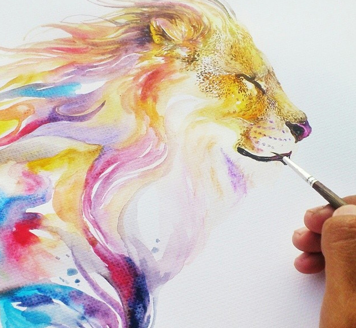 beautiful-Animal-Illustrations-In-Watercolor-paintings (13)