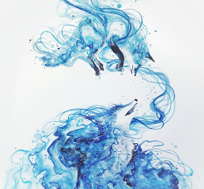 beautiful-Animal-Illustrations-In-Watercolor-paintings (16)