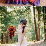 New trend on wedding – Dip dye wedding dress