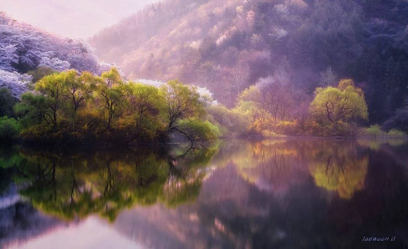 beautiful-photos-reflection-landscape-photography-south-korea (1)