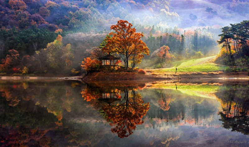 beautiful-photos-reflection-landscape-photography-south-korea (10)