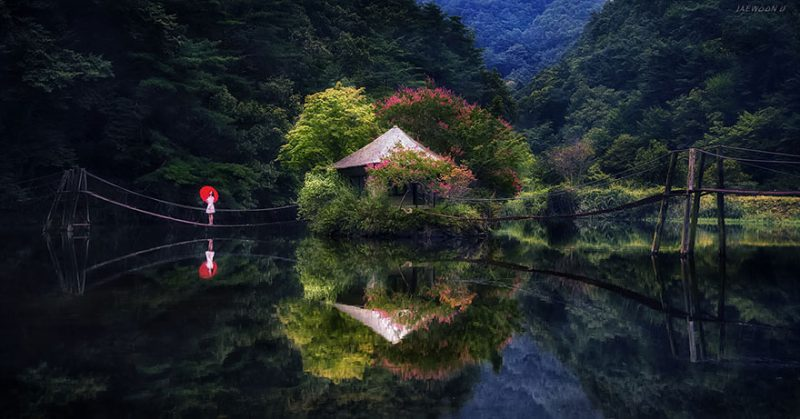 beautiful-photos-reflection-landscape-photography-south-korea (6)
