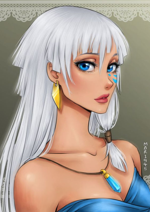 disney-princesses-anime-characters-drawings-4