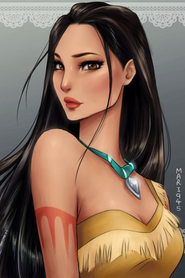 disney-princesses-anime-characters-drawings-9