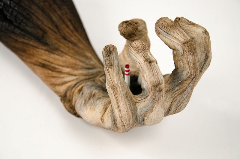 Amazing Ceramic Sculptures By Christopher David White Look Alike Woods Vuing Com