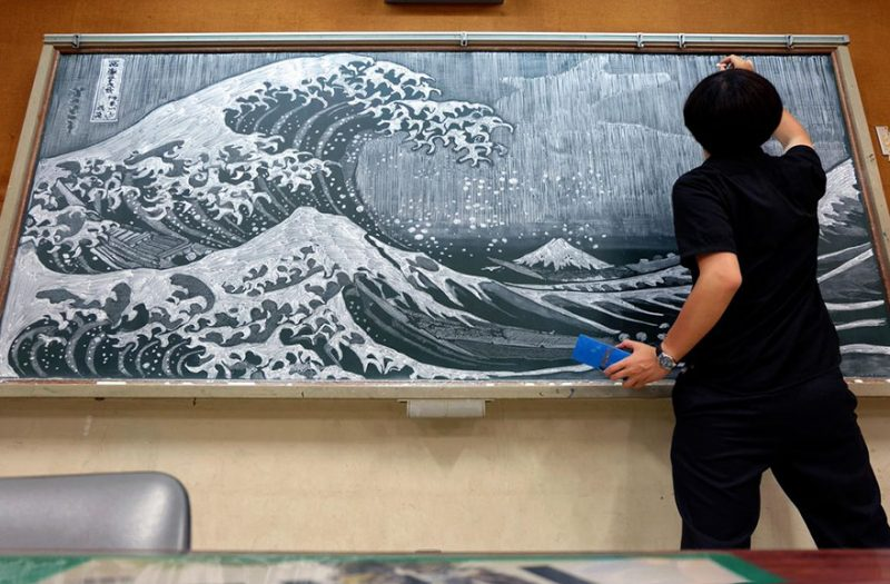 japanese-teacher-chalkboard-drawing-art-1