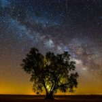 Magnificent sight of starry skies in Alentejo, Portugal