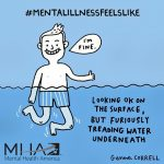 Sketches that help us to understand the struggles of people daily suffering from mental illness