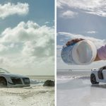 Photographer used $40 miniature toy car instead to photograph Audi's $160,000 sports car