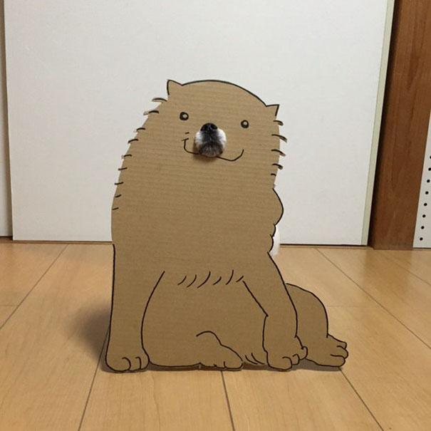 funny-cosplay-dog-costume-cardboard-cutouts-5