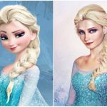 Illustrations of Disney princesses in real world by a multifaceted artist