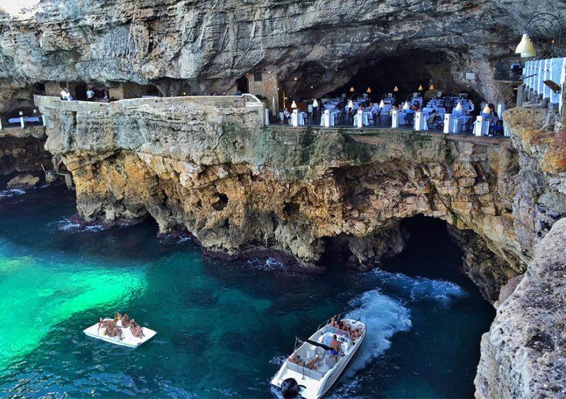 romantic-italian-cave-restaurant-grotta-palazzese-polignano-mare-3