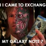List of hilarious reactions to the exploding Samsung Galaxy Note 7
