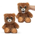 Plush stuffed animals change from cute to crazy just with a squeeze