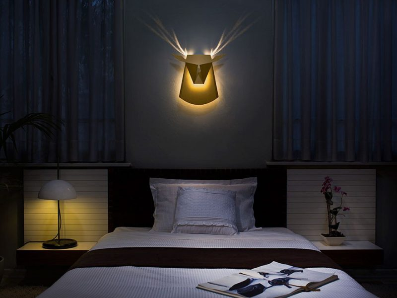 animal wall lamps popup lighting design decoration 7 - Wall Lamps Design