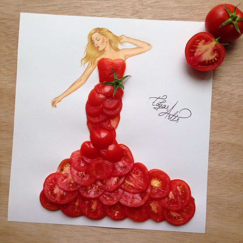 beautiful-fashion-dress-design-vegetable-fruit-everyday-objects-20