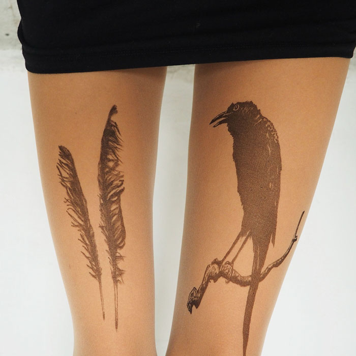 beautiful-tights-floral-animal-tattoo-motifs-7