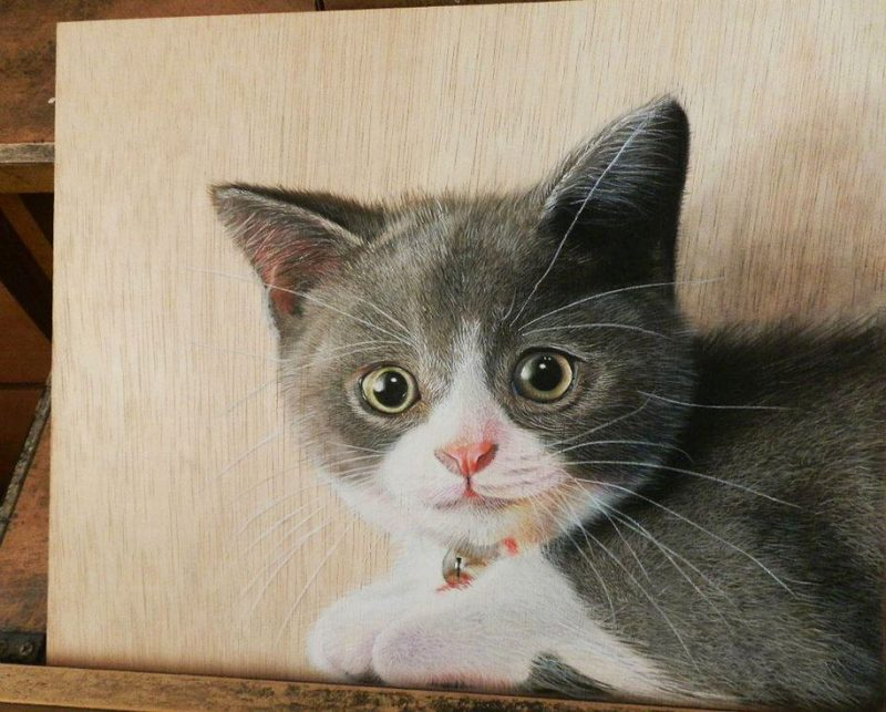 hyper-realistic-paintings-photorealism-drawing-wood-11
