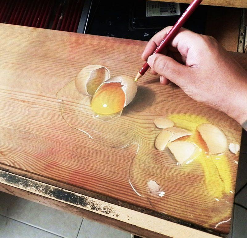 hyper-realistic-paintings-photorealism-drawing-wood-15