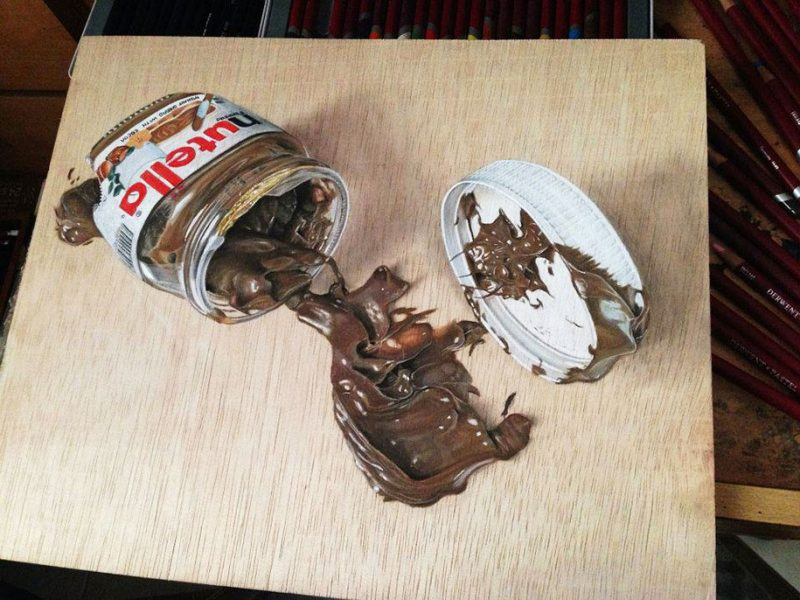hyper-realistic-paintings-photorealism-drawing-wood-2