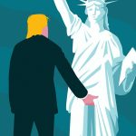 Illustrators' responses to Donald Trump's presidency
