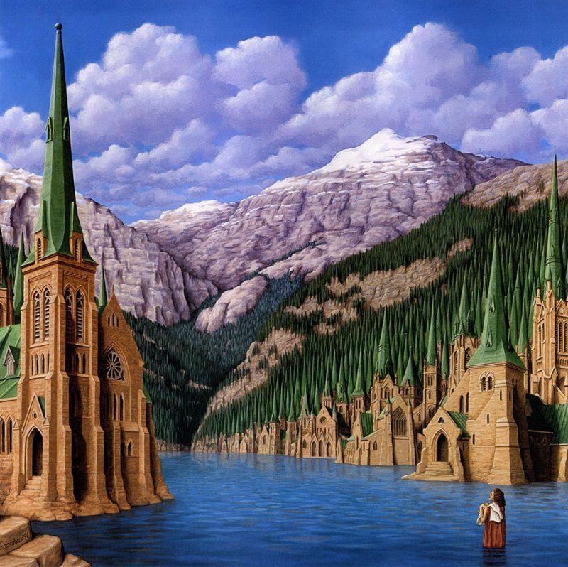 magic-surrealism-optical-illusions-paintings-art-17