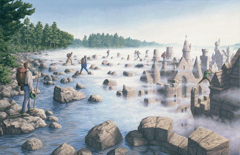 magic-surrealism-optical-illusions-paintings-art-19