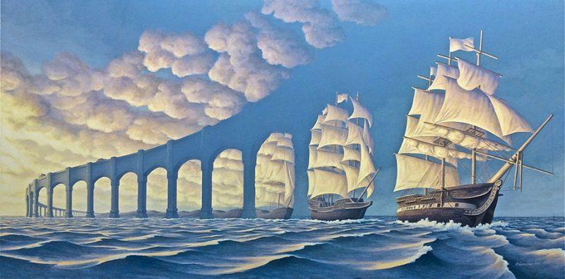 magic-surrealism-optical-illusions-paintings-art-23