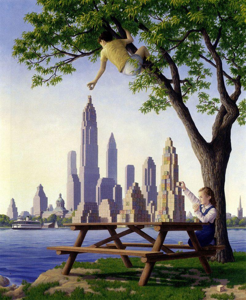 magic-surrealism-optical-illusions-paintings-art-5
