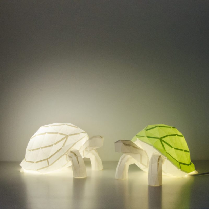 Elegant Papercraft Animal Lamps Vuing Com