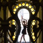 Photo shoots by Darian Volkova showing the beauty of Russian ballet and St. Petersburg's architecture