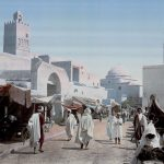 Color postcards of Tunisia more than a hundred years ago in 1899