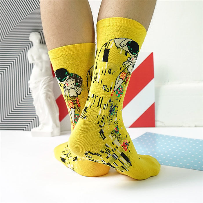 You Can Choose These Art Socks As Christmas Gift For Art