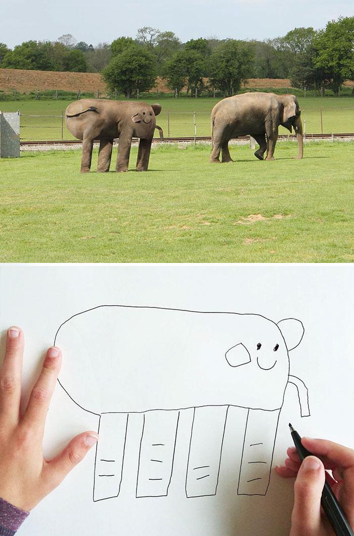 funny-children-drawings-digital-recreated-3