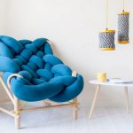 Knit tubes chair