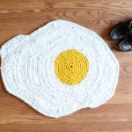 Handmade floor rugs inspired by food