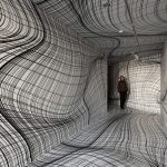 Illusive spaces by artist Peter Kogler