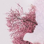 Beautiful double exposure portraits