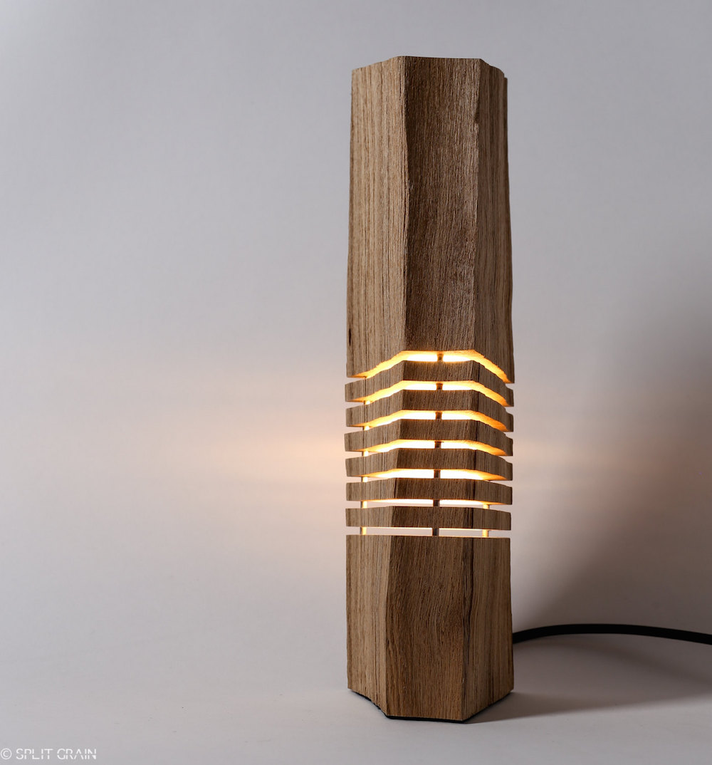 nature inspired lighting. Minimalist Design Of Sliced Firewood Lamps Highlights The Natural Beauty Nature Inspired Lighting