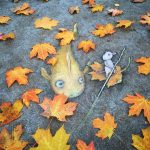 Street art creatures by David Zinn