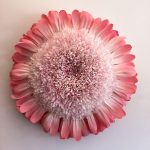 Giant paper flower artworks by artist and architect Tiffanie Turner