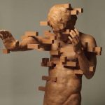 Dynamic wood sculptures by Taiwanese contemporary artist Hsu Tung Han