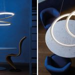 Sculptural pendant light